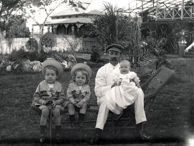 Bert, Norm, George and Ivy Roberts
