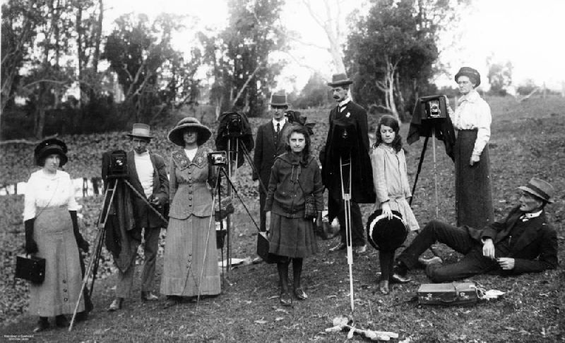 early 20th century Queensland photography group